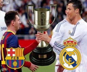 Układanka Final Pucharu króla 2013-14, FC Barcelona - Real Madryt