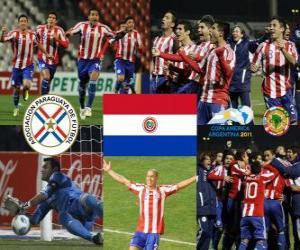 Układanka Finalista Paragwaj, Copa América Argentyna 2011