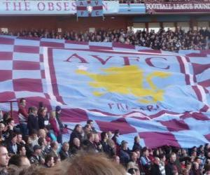 Układanka Flaga Aston Villa FC