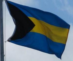 Układanka Flaga Bahamów