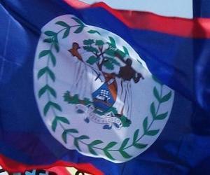 Układanka Flaga Belize