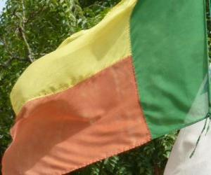 Układanka Flaga Beninu