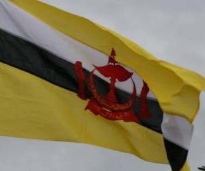 Układanka Flaga Brunei