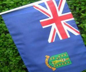 Układanka Flaga brytyjskich Wysp Dziewiczych