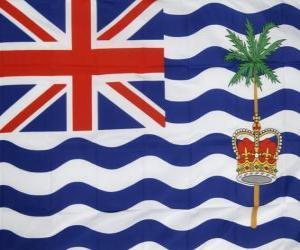 Układanka Flaga Brytyjskiego Terytorium Oceanu Indyjskiego