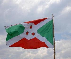 Układanka Flaga Burundi