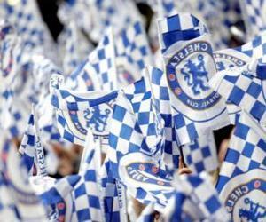 Układanka Flaga Chelsea FC