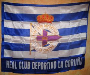 Układanka Flaga Deportivo de La Coruña