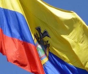 Układanka Flaga Ekwadoru
