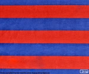 Układanka Flaga FC Barcelona