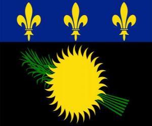 Układanka Flaga Gwadelupy