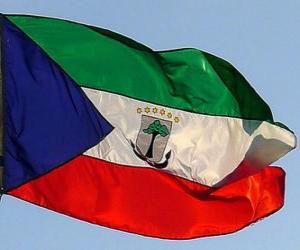 Układanka Flaga Gwinei Równikowej