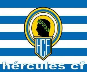Układanka Flaga Hércules Alicante