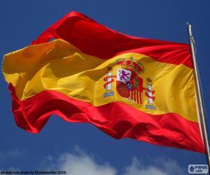 Układanka Flaga Hiszpanii