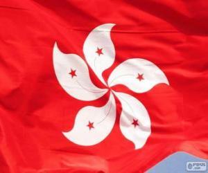 Układanka Flaga Hong Kong