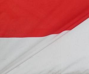 Układanka Flaga Indonezji