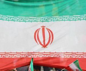 Układanka Flaga Iranu