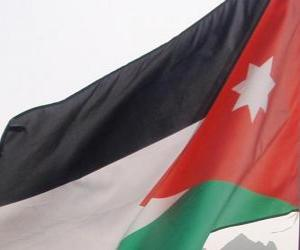 Układanka Flaga Jordanii