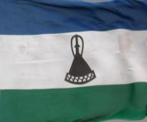 Układanka Flaga Lesotho