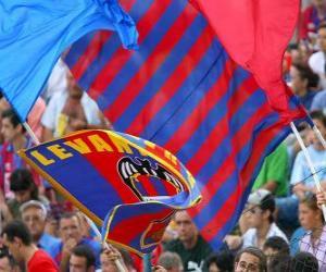Układanka Flaga Levante Walencja
