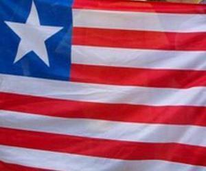Układanka Flaga Liberii