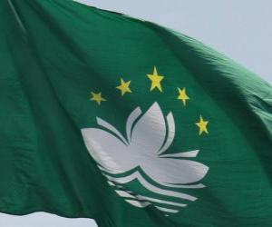 Układanka Flaga Macau