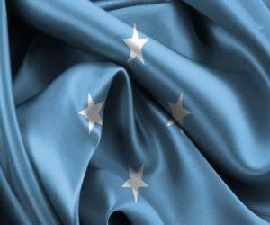 Układanka Flaga Mikronezji