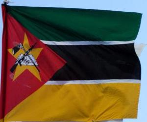 Układanka Flaga Mozambiku