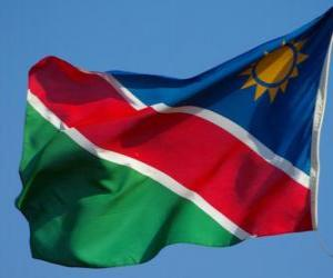 Układanka Flaga Namibii