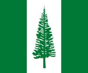 Układanka Flaga Norfolku