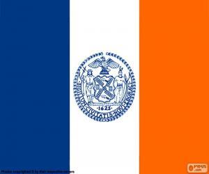 Układanka Flaga Nowego Jorku