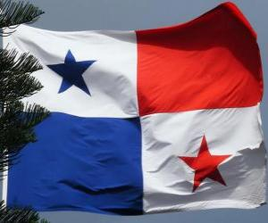 Układanka Flaga Panamy