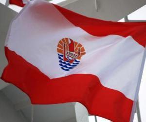 Układanka Flaga Polinezja Francuska