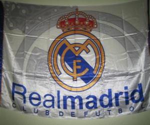 Układanka Flaga Realu Madryt