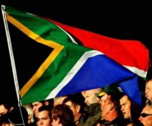 Układanka Flaga Republiki Południowej Afryki