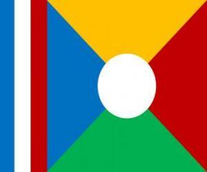 Układanka Flaga Reunionu