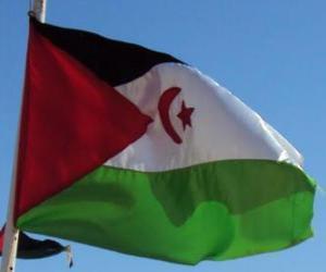 Układanka Flaga Sahary Zachodniej