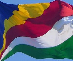 Układanka Flaga Seszeli
