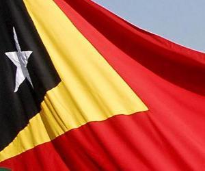 Układanka Flaga Timoru Wschodniego