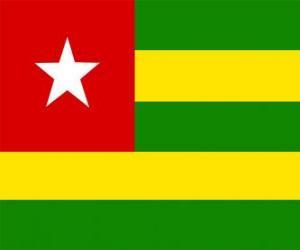 Układanka Flaga Togo