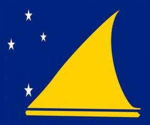 Układanka Flaga Tokelau