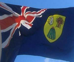 Układanka Flaga Turks i Caicos