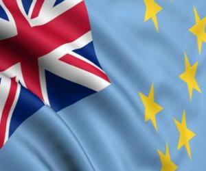 Układanka Flaga Tuvalu