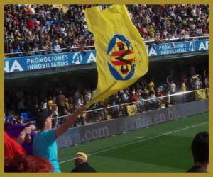 Układanka Flaga Villarreal CF