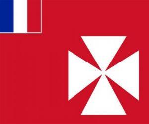 Układanka Flaga Wallis i Futuny