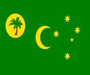 Układanka Flaga Wysp kokosowych