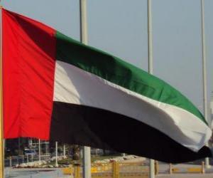 Układanka Flaga Zjednoczone Emiraty Arabskie