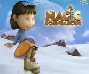 Układanka Flora, dziewczyna z Magiczna karuzela