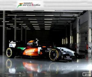 Układanka Force India VJM 07 - 2014 -