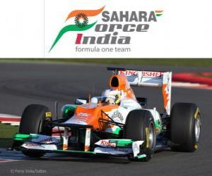 Układanka Force India VJM05 - 2012 -